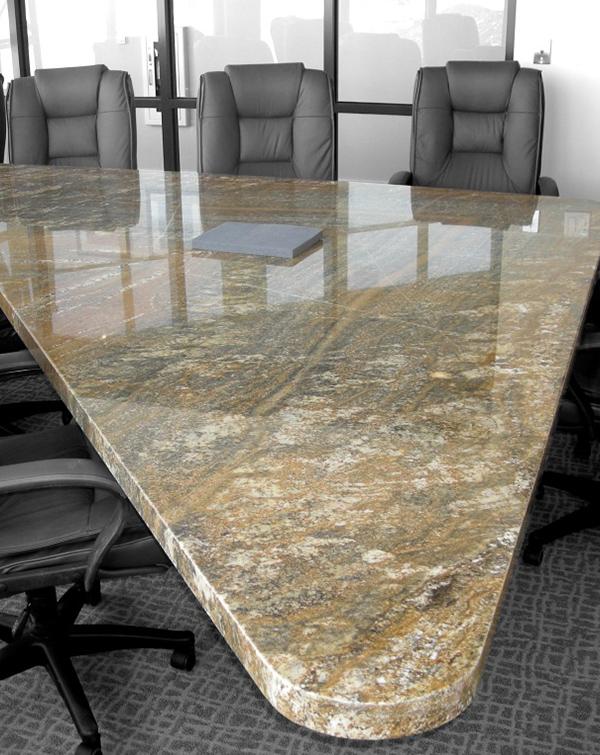 Granite Conference Tables Aspen Countertops - Triangle conference table